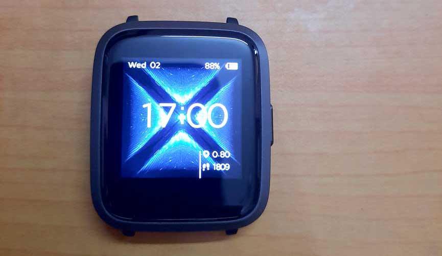 boAt Storm Smartwatch Display